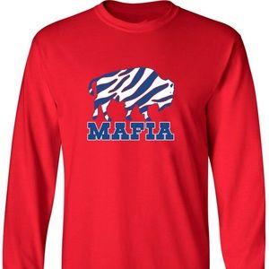 Buffalo Bills Mafia Zubaz Long Sleeve Shirt